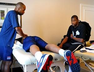 Kevin Durant na preparação dos EUA no mundial de basquete