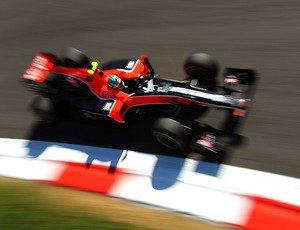 Di Grassi  no treino da F1 em Monza