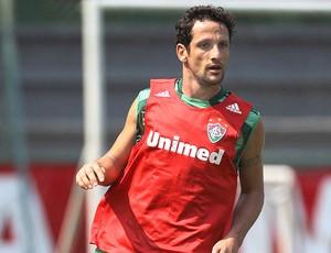 Belletti no treino do Fluminense