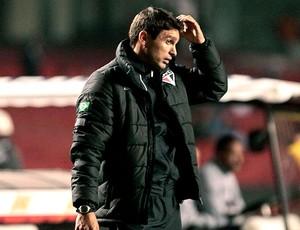 Sergio Baresi na partida do São Paulo contra o Internacional