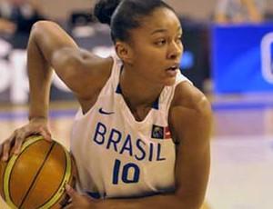 Damiris basquete Brasil x França