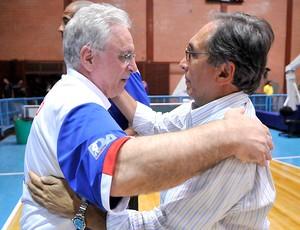 Basquete Lula Ferreira e Kouros Monadjemi