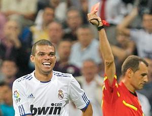 Pepe Real Madrid expulso