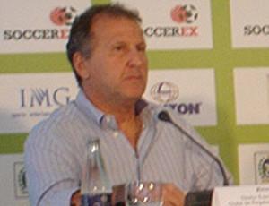zico, diretor do flamengo