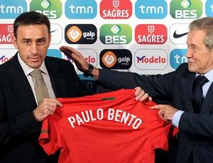Paulo Bento apresentado como técnico de Portugal
