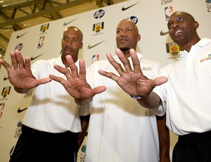 Ron Bruce Bowen, Ron Harper e Dee Brown