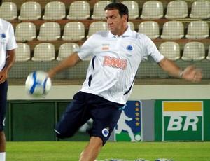 Cuca no treino do Cruzeiro