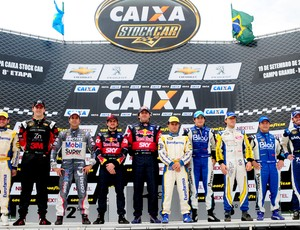 Stock Car: o pódio com os dez classificados para os playoffs