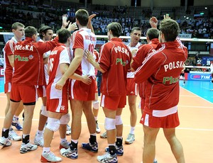 Polônia comemora vitória no Mundial de Vôlei