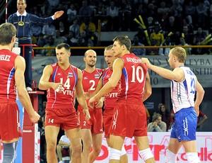 Rússia comemora vitória no Mundial de Vôlei