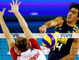 rodrigão, brasil x polônia, mundial de vôlei