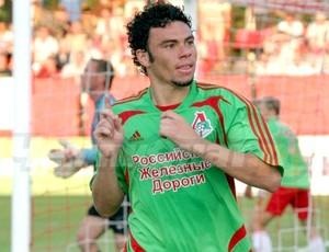 Rodolfo Lokomotiv moscou comemora gol