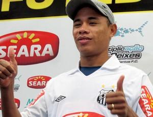Apresentação atacante Moisés Santos