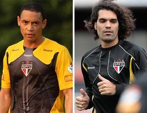 MONTAGEM - Ricardo Oliveira fernandão são paulo