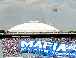 Torcida do Cruzeiro no Parque do Sabiá