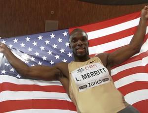 LaShawn Merritt atletismo Zurique 2009 Golden League