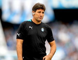 Renato Gaúcho técnico do Grêmio no jogo contra o Cruzeiro