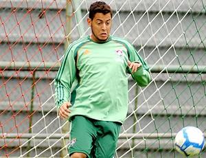 Fernando Henrique durante treino do Fluminense
