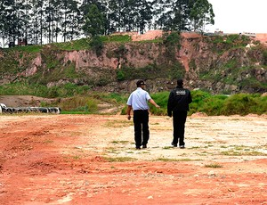 Obras Corinthians Itaquera (Foto: Marcos Ribolli / Globoesporte.com)