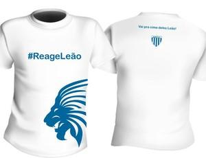 camisa campanha reage leão avaí