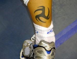 tatuagem líbero fabi vôlei brasil