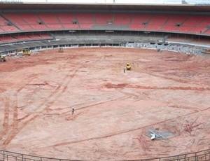 obras estádios copa do mundo brasil 2014 - mineirão