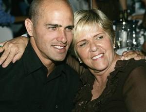 Kelly Slater mãe Judy