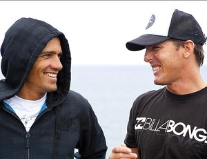 Kelly Slater e Andy Irons Bells Beach 2010