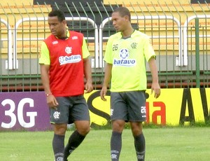 Val Baiano treino do Flamengo