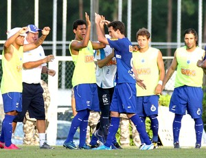 Comemoração Cruzeiro x Vitória