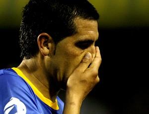 Riquelme fica fora do Boca até ano que vem (agência EFE)