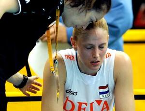 Mundial de vôlei Holanda x Tailândia Staelens