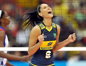 jaqueline vôlei jogo Brasil