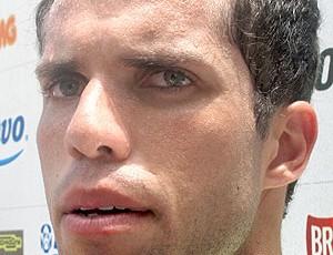Marcelo Lomba no treino do Flamengo