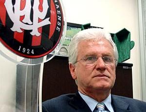 Marcos Malucelli presidente do Atlético-PR (Foto: Márcio Iannaca / GLOBOESPORTE.COM)