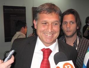Gerardo Martino Técnico do Paraguai (Foto: Cahê Mota / Globoesporte.com)