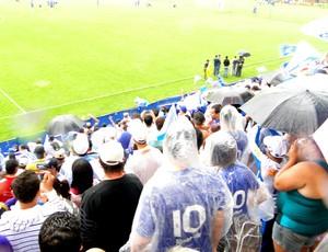 Torcida do Cruzeiro na Toca da raposa