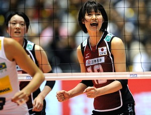 vôlei japão comemora brasil mundial