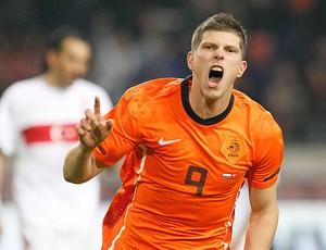 Huntelaar gol Holanda (Foto: Reuters)