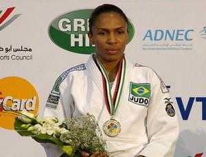 Érika Miranda medalha de prata Grand Prix de Abu Dhabi