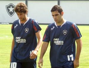 Treino do Botafogo - Danny Morais e Herrera