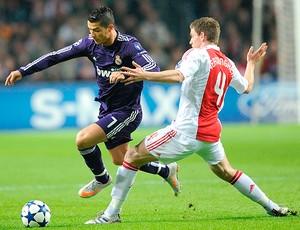 Cristiano Ronaldo Jan Vertonghen Ajax x Real Madrid