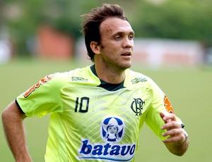 Petkovic no treino do Flamengo