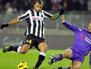 Felipe Melo na partida do Juventus contra a Fiorentina