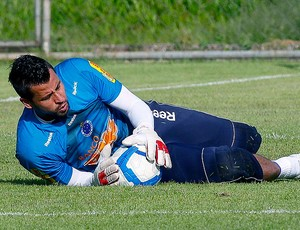 Fabio no treino do Cruzeiro (Foto: Washington Alves / VIPCOMM)