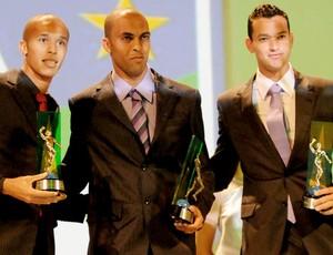 alex silva, leandro euzebio e rever, prêmio craque do brasileirão