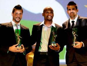 prêmio craque do brasileirão, goleiros, fabio, jeferson e victor