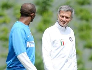 Samuel Eto'o Jose Mourinho Inter de Milão 18/05/2010