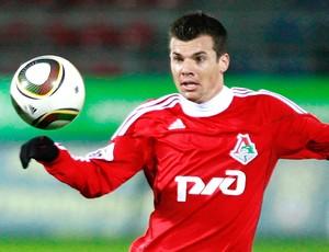 Wagner do Lokomotiv Moscou suposto reforço Flamengo