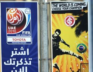 Treino do internacional em Abu Dhabi Mundial de Clubes
